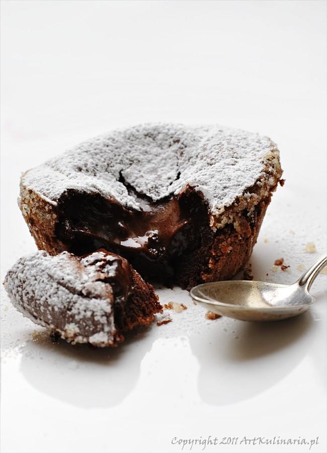 Ciastko czekoladowe bez mąki  / ArtKulinaria