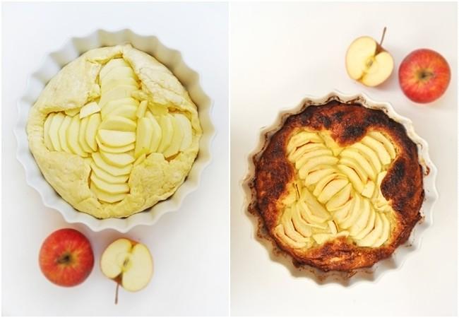 Kouign Amann z jabłkami